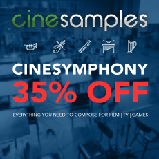 Cinesamples CineSymphony Sale - 35% OFF