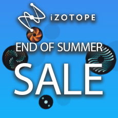 iZotope End of Summer Sale