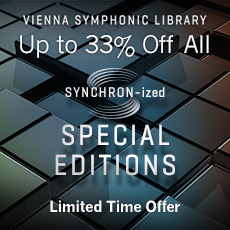 VSL SYNCHRON-ized Special Editions - Up to 33% Off