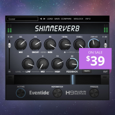 Eventide ShimmerVerb - Introductory Offer