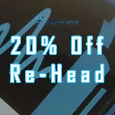 Blue Cat Audio - 20% OFF Re-Head