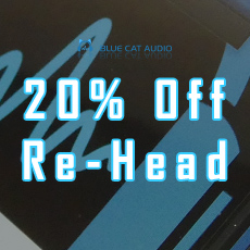 Blue Cat Audio - 20% OFF Re-Head