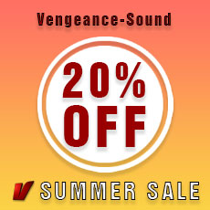 Vengeance Sound Summer Sale - 20% OFF
