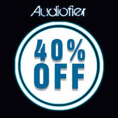Audiofier Designer Double Week 40% Off