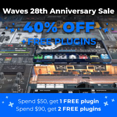 Waves 28th Anniversary Sale - 40% OFF