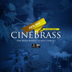 Cinesamples: CineBrass Flash Sale