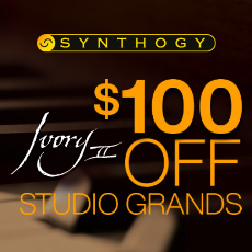 Synthogy Studio Grands Promotion