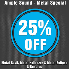 Ample Sound - Metal Special - 25% OFF