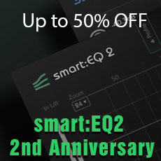 SONIBLE smart:EQ2 2nd Anniversary Sale