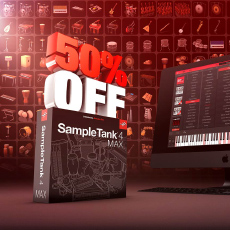 IK Multimedia - 50% Off SampleTank 4 MAX