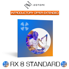 iZotope RX 8 Intro Offer Extended
