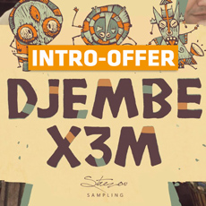 Strezov Sampling - Djembe X3M Intro Offer