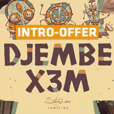 Strezov Sampling - Djembe X3M Intro Offer