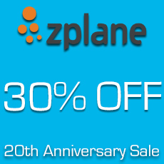 Zplane - 20th Anniversary Sale - 30% OFF