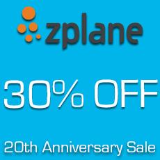 Zplane - 20th Anniversary Sale - 30% OFF