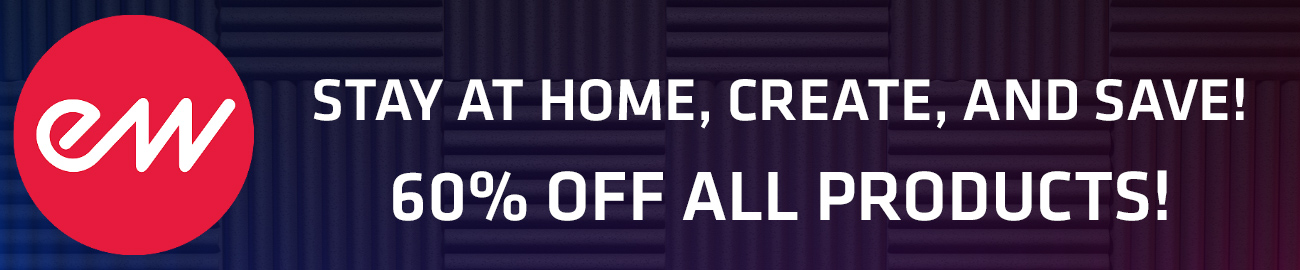Banner EastWest Stay at Home Sale - 60% OFF