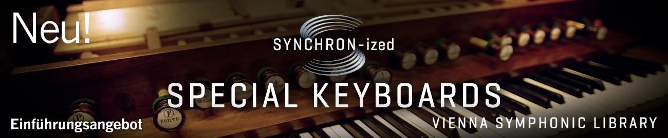 Banner VSL SYNCHRON-ized Special Keyboards Intro Offer
