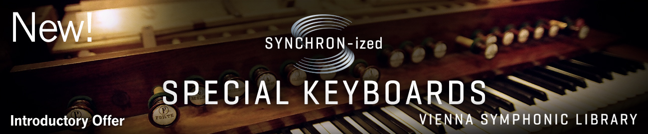 Banner VSL SYNCHRON-ized Special Keyboards Intro Offer