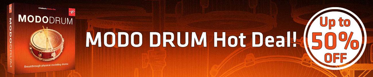 Banner IK Multimedia - MODO DRUM - Up to 50% OFF