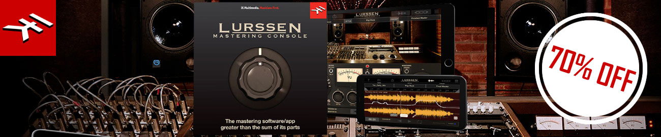 Banner IK Krazy Deal: Lurssen Mastering Console