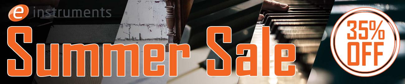 Banner e-instruments - SummerSale: 35% OFF