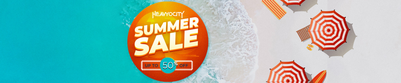 Banner Heavyocity Summer Sale: Up to 50% OFF