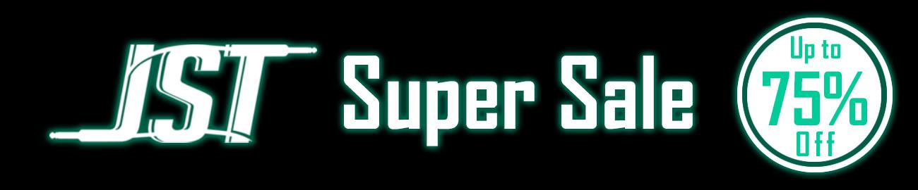 Banner JST Super Sale - Up to 75% OFF