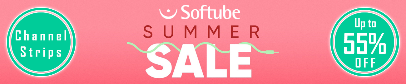 Banner Softube - Channel Strip Sale