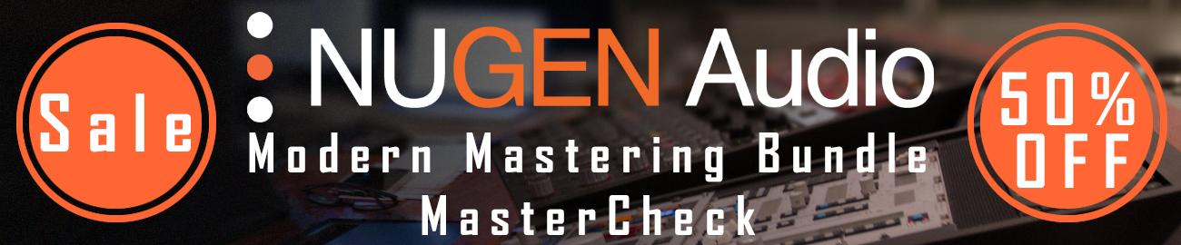 Banner NUGEN Audio - Mastering Sale: 50% OFF