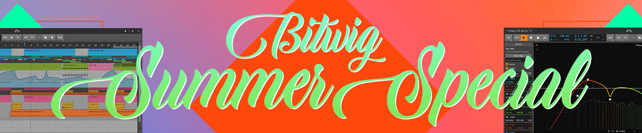 Banner Bitwig Summer Special 2020