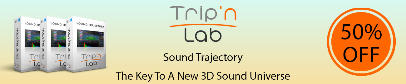 Banner Trip n Lab - Sound Trajectory 50% OFF