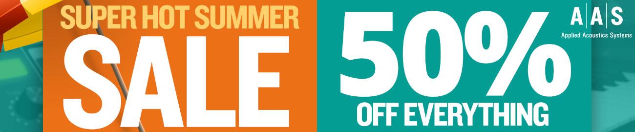 Banner AAS Super Hot Summer Sale - 50% OFF