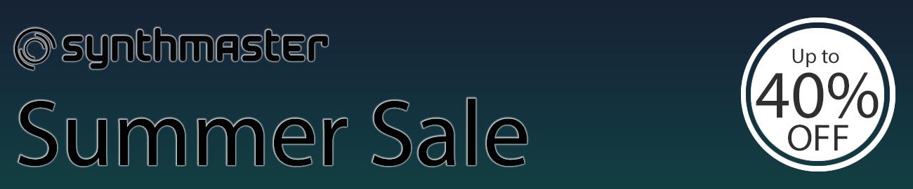 Banner KV331 Summer Sale - Up to 40% OFF
