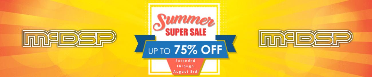 Banner McDSP - Summer Super Sale Extended