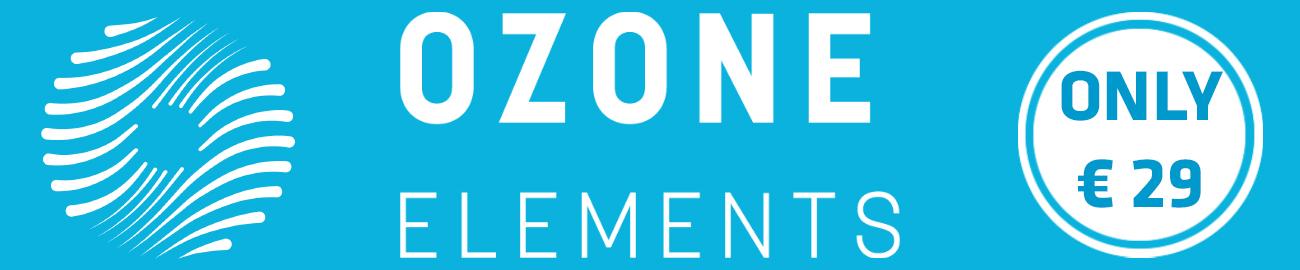 Banner iZotope: Ozone Elements Flash Sale