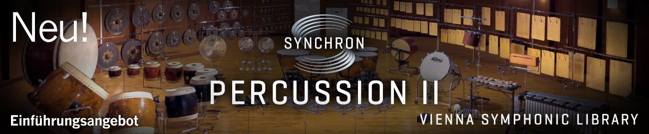 Banner VSL: Synchron Percussion II Introductory Offers