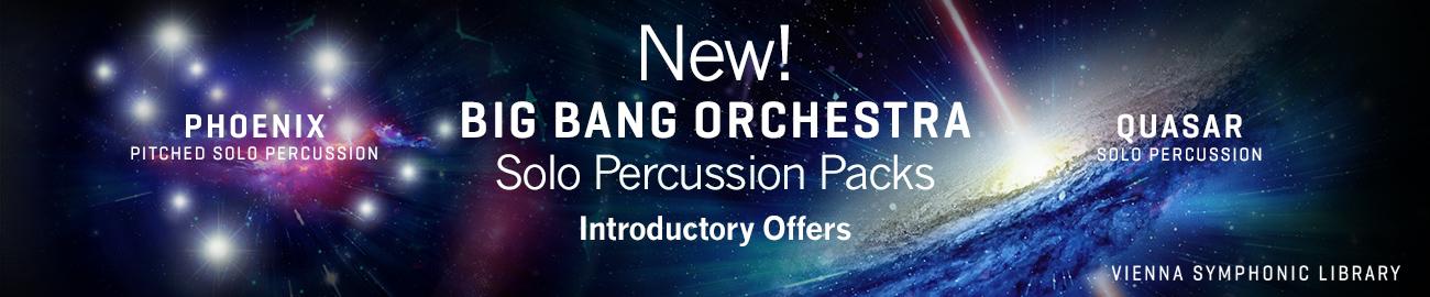Banner VSL BBO: Solo Percussion Packs Intro Offer