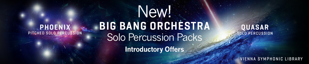 Banner VSL BBO: Solo Percussion Packs Intro Offer