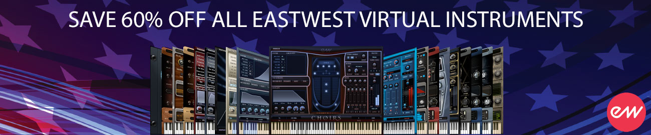 Banner EastWest - Celebrate Labor Day and Save 60%