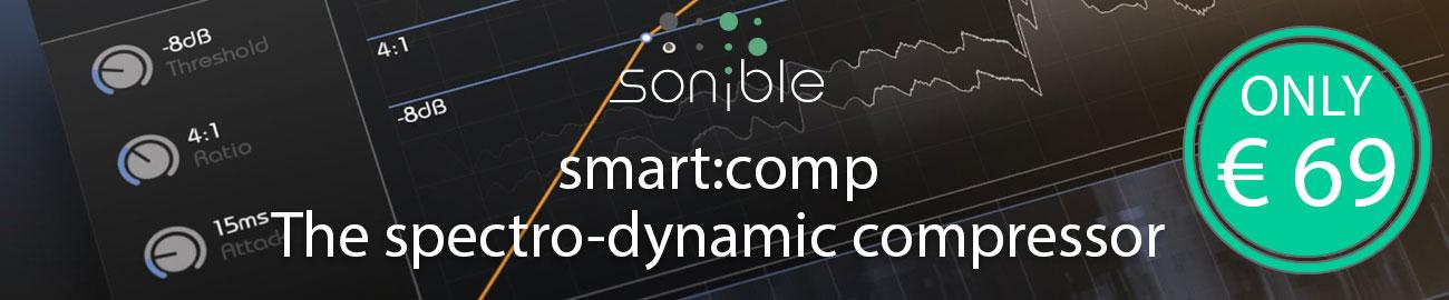 Banner Sonible smart:comp Sale