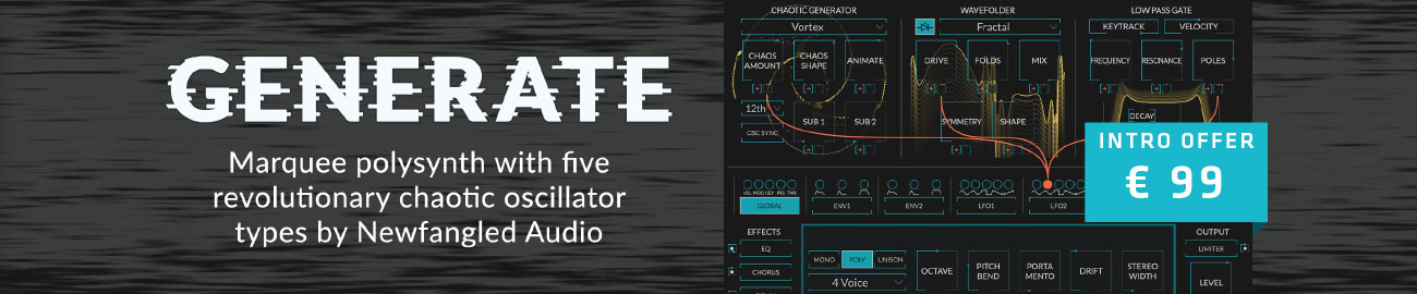 Banner Eventide - Generate by Newfangled Audio - Intro