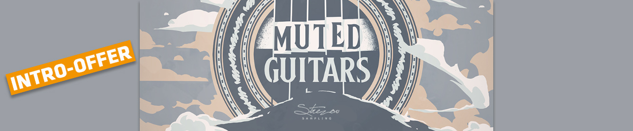 Banner Strezov Sampling - Muted Guitars Intro Offer