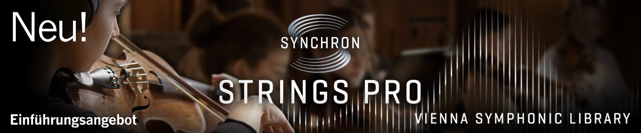 Banner VSL: Synchron Strings Pro Introductory Offer