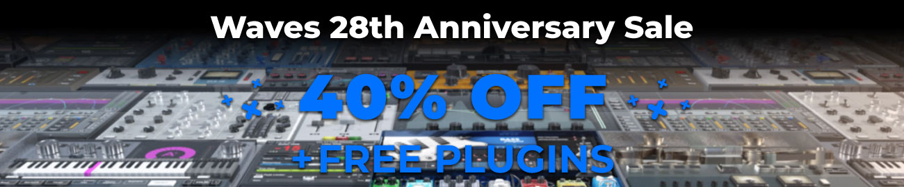 Banner Waves 28th Anniversary Sale - 40% OFF
