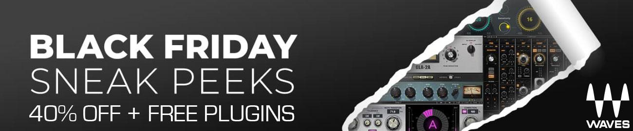 Banner Waves - Black Friday Sneak Peeks - 40% OFF