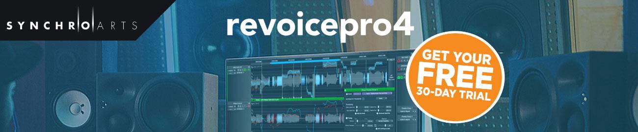 Banner Synchro Arts - Revoice Pro 4