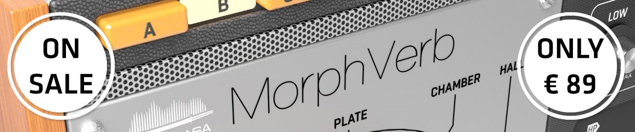 Banner UnitedPlugins - MorphVerb Sale