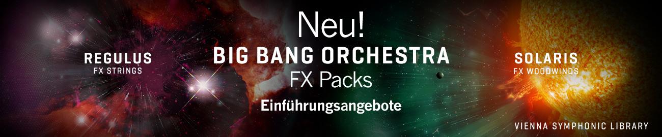 Banner VSL: Big Bang Orchestra - FX Packs - Offer
