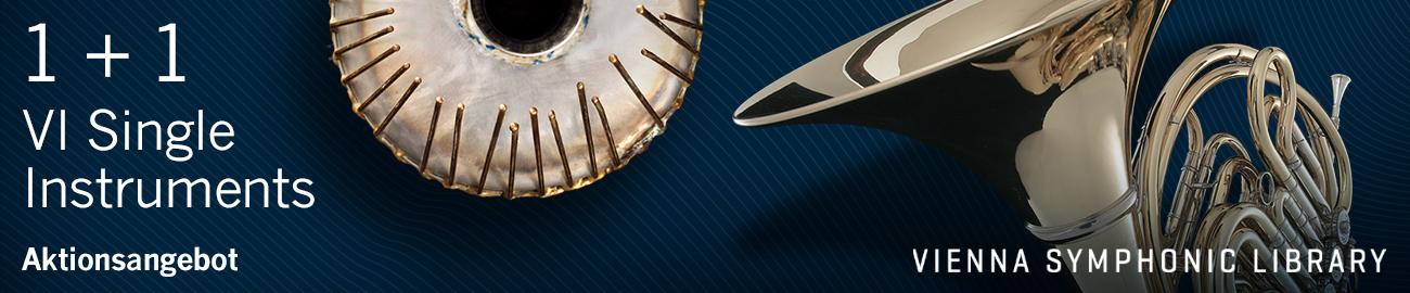 Banner VSL: VI Single Instruments: Buy 1, Get 1 Free!