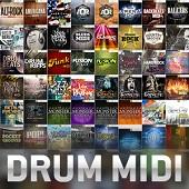 Toontrack Drum MIDI Packs
